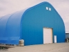 Commercial storage fabric building
