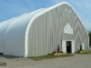 Indoor horse riding arena fabric structure
