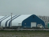 Industrial warehouse fabric structure