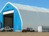 Maintenance facility fabric building